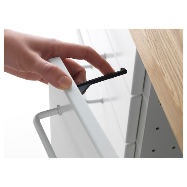 PATRULL drawer/cabinet catch black 5 pack