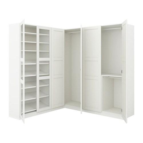 pax corner wardrobe 210 188x201 cm ikea. Black Bedroom Furniture Sets. Home Design Ideas