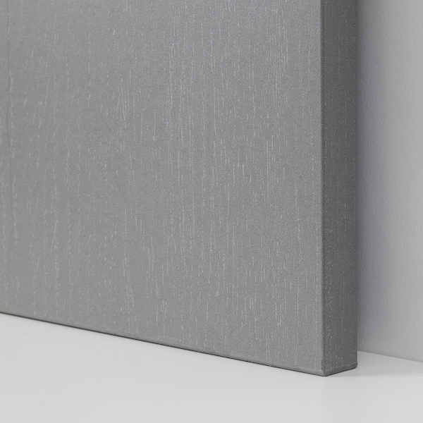 PAX / FORSAND Wardrobe combination, gray stained ash effect, 39 3/8x23 5/8x93 1/8 ""