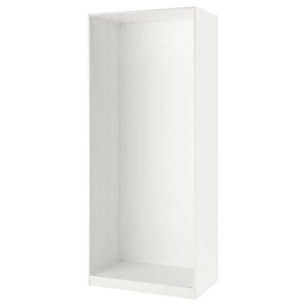 "PAX Wardrobe frame, white, 39 3/8x22 7/8x92 7/8 """