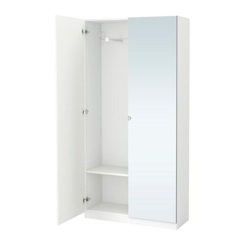 pax wardrobe 100x38x201 cm ikea. Black Bedroom Furniture Sets. Home Design Ideas