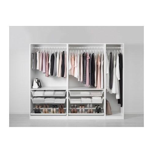 Pax wardrobe 250x58x201 cm ikea for Hemnes guardaroba