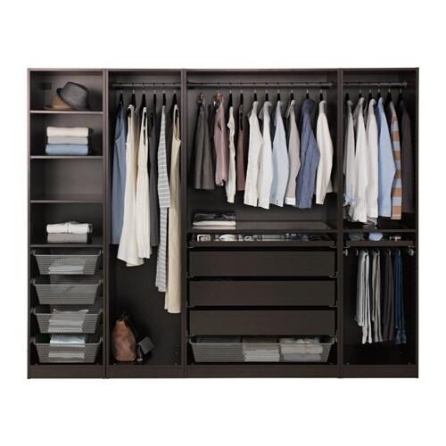 PAX Wardrobe - 250x58x201 cm - IKEA