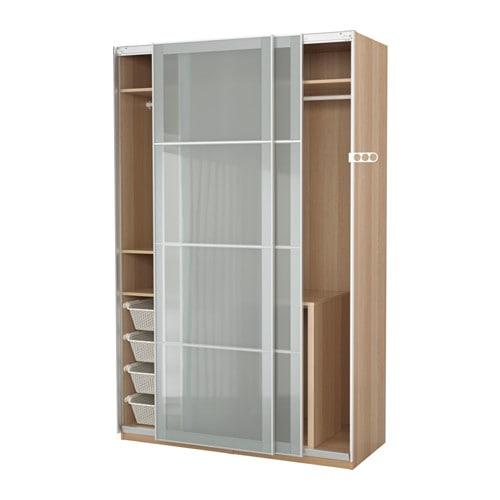 Pax wardrobe 150x66x236 cm soft closing damper ikea - Armoire penderie profondeur 45 cm ...