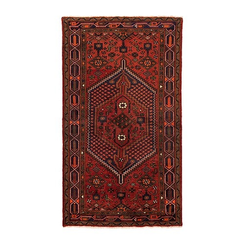 PERSISK HAMADAN Rug, low pile   Each rug is hand-knotted by skilled craftspeople so each one is unique in design and size.