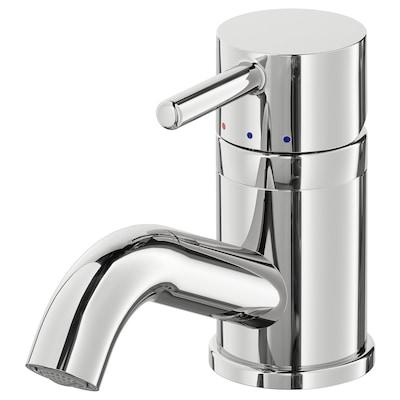 PILKÅN Bathroom faucet, chrome plated
