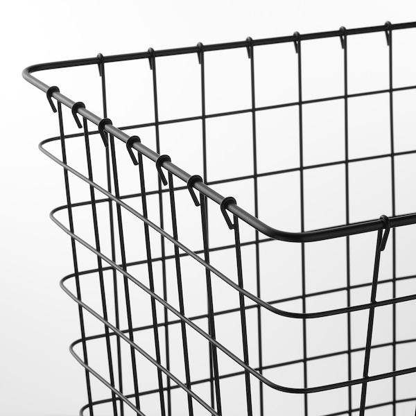 PLEJA Wastepaper basket, black, 5 gallon