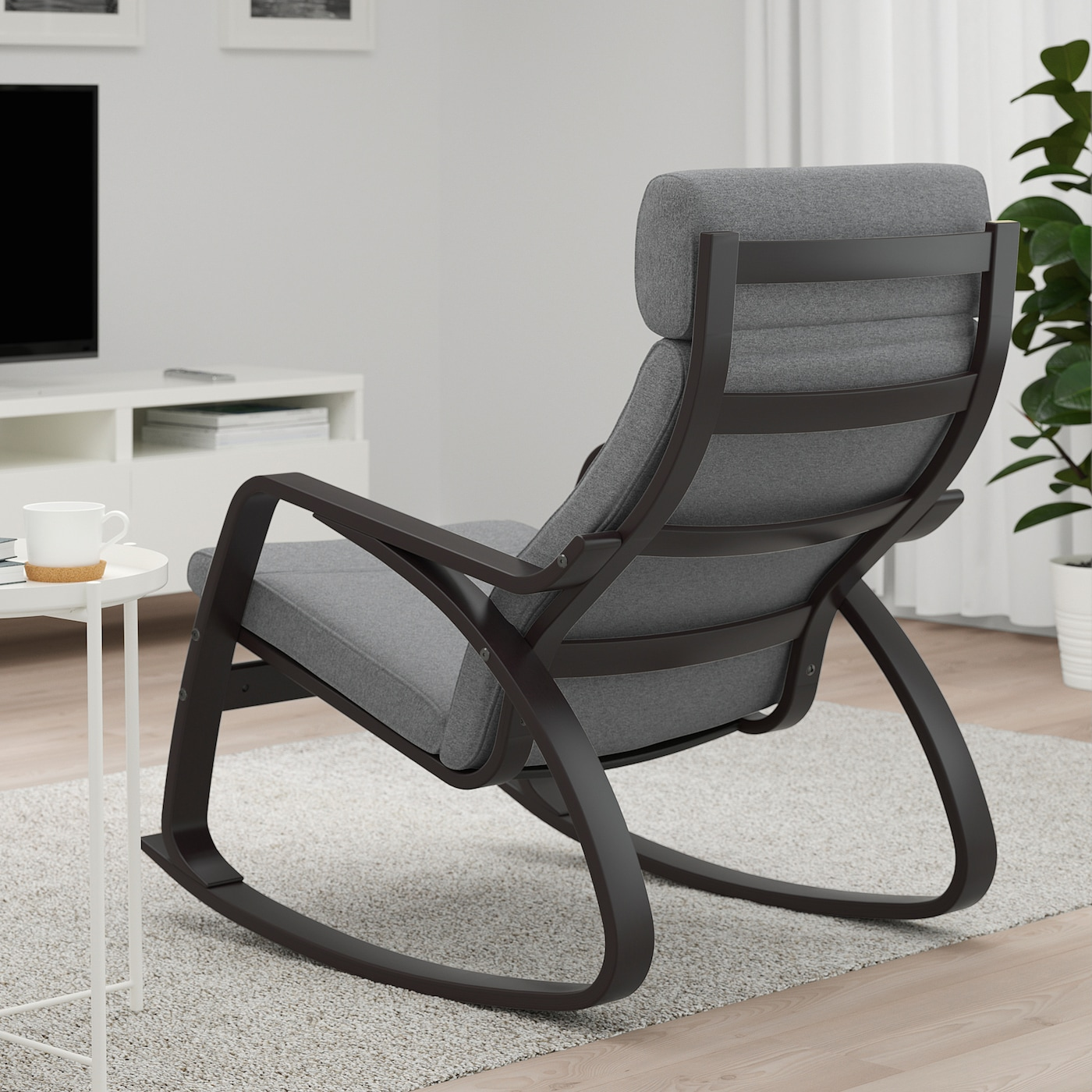 Picture of: Poang Rocking Chair Lysed Gray Ikea Canada Ikea