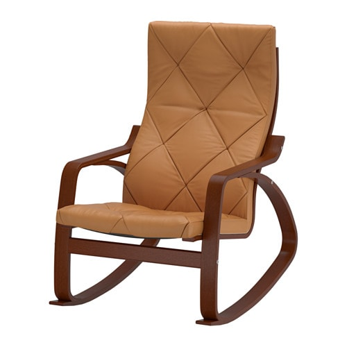 Ikea Patrull Türschutzgitter ~ POÄNG Rocking chair Highly durable full grain leather which is soft