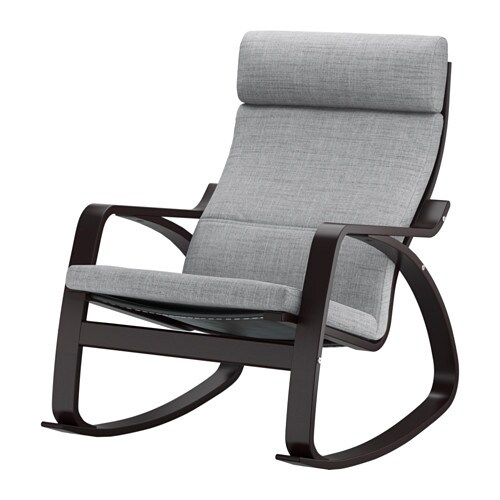 Po ng rocking chair isunda gray ikea - Chairs similar to poang ...