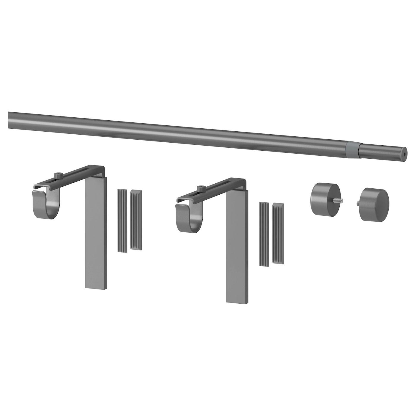 IKEA Raffig Finials 1 Pair Silver 002.199.37