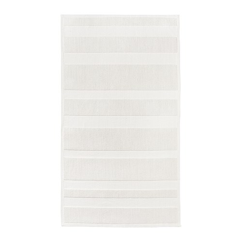 RAMSKÄR Bathroom mat   Flat woven and loop pile cotton.   Adds softness and texture to the mat.