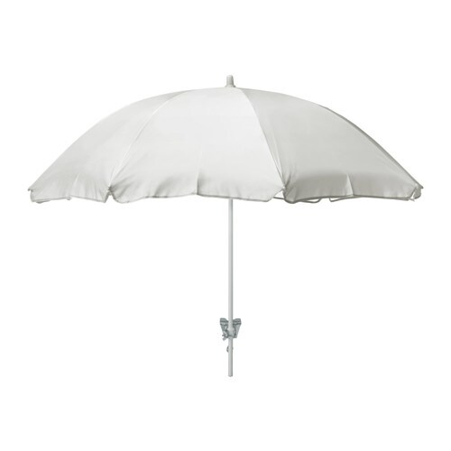 rams parasol white ikea. Black Bedroom Furniture Sets. Home Design Ideas