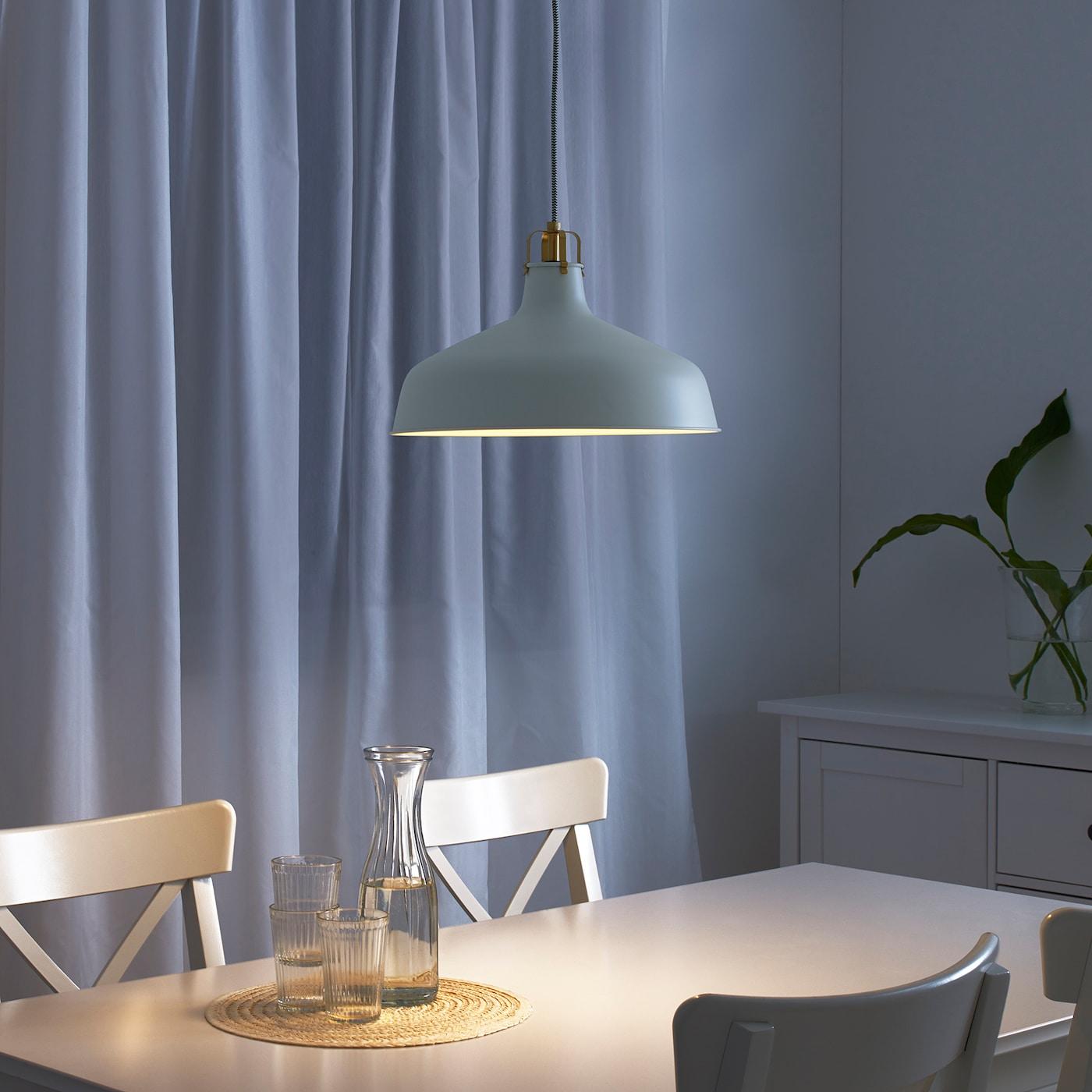 Ranarp Pendant Lamp Off White 15 38 Cm Ikea