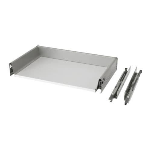 RATIONELL Fully-extending drawer+damper