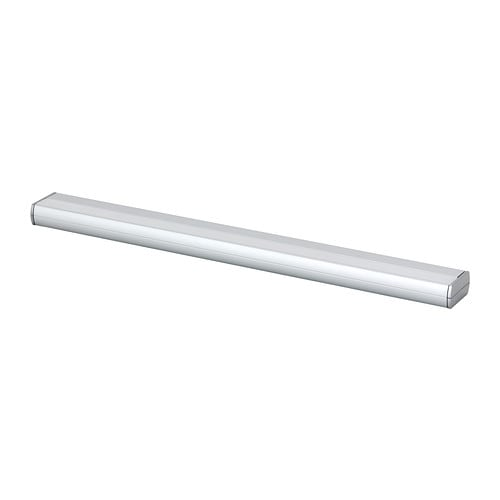 RATIONELL LED countertop light   The LED light source consumes up to 85% less energy and lasts 20 times longer than incandescent bulbs.