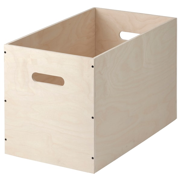 RÅVAROR Box, birch plywood, 22 1/2x13 ""