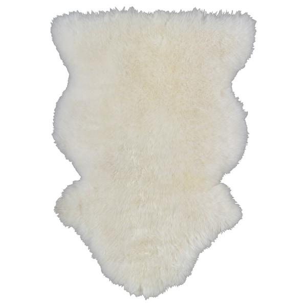 "RENS sheepskin white 28 "" 16 "" 3.01 sq feet"