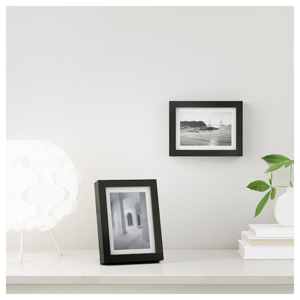 RIBBA Frame, black, 4x6 ""