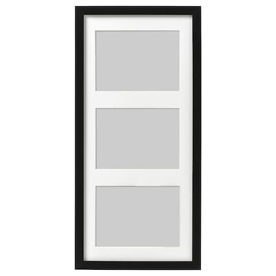 "RIBBA Frame, black, 19 ¾x9 """