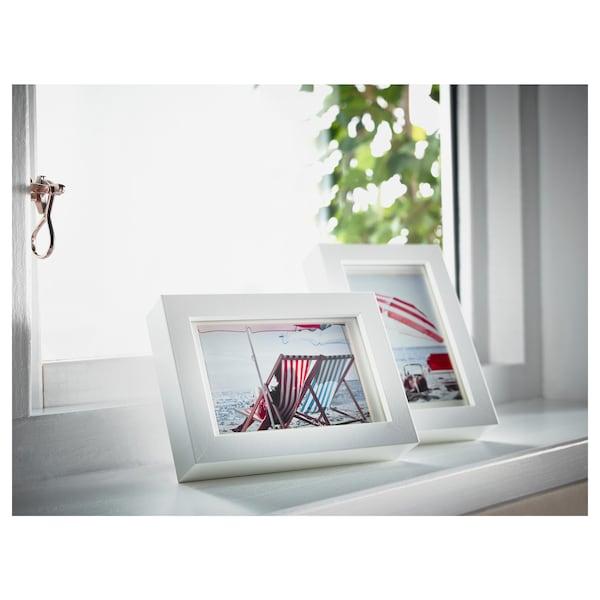 """RIBBA frame white 4 """" 6 """" 3 ¼ """" 4 ¾ """" 2 ¾ """" 4 ¼ """" 4 ¾ """" 6 ¾ """""""