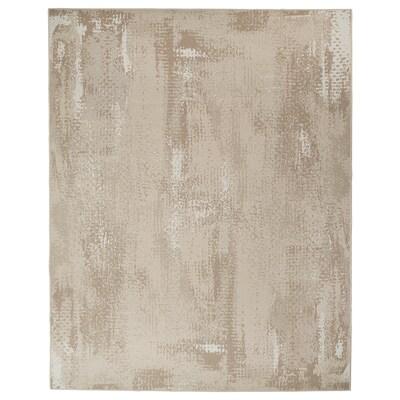 """RODELUND Rug flatwoven, in/outdoor, beige, 6 ' 7 """"x8 ' 2 """""""