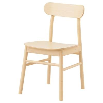 """RÖNNINGE chair birch 243 lb 18 1/8 """" 19 1/4 """" 31 1/8 """" 16 1/8 """" 16 1/8 """" 17 3/4 """""""
