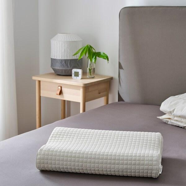 IKEA ROSENSKÄRM Ergonomic pillow, side/back sleeper