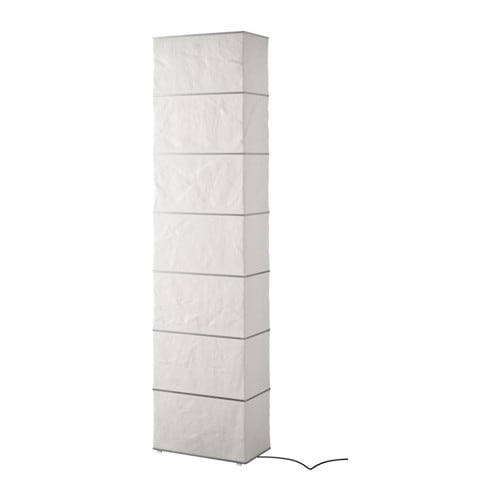 Ikea Kulla Floor Lamp White ~ RUTBO Floor lamp You can create a soft, cozy atmosphere in your home