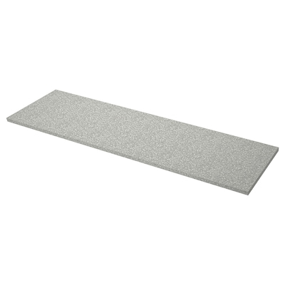 SÄLJAN Countertop, light gray mineral effect/laminate, 98x1 1/2 ""