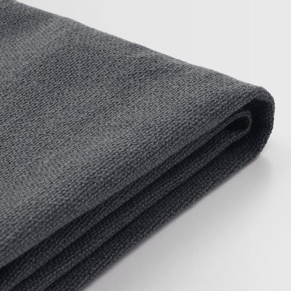 SAKARIAS Armchair, black/Sporda dark gray