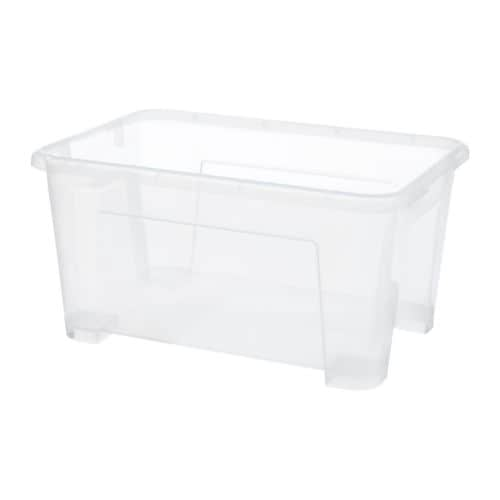 SAMLA Box   This box is suitable for storing sports equipment, gardening tools or laundry accessories.