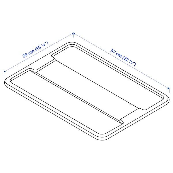 SAMLA Lid for box, 45/65 L, transparent