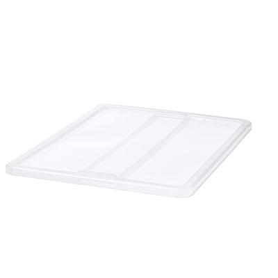 "SAMLA lid for box 55/130 L transparent 31 "" 22 ½ """