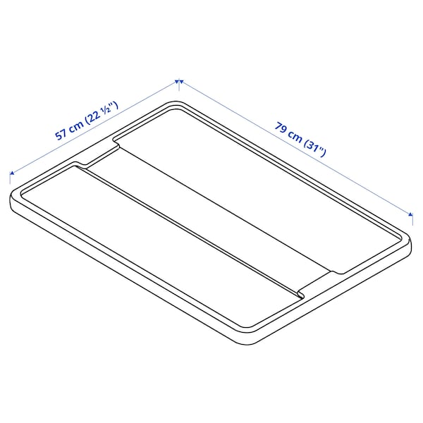 SAMLA Lid for box 55/130 L, transparent