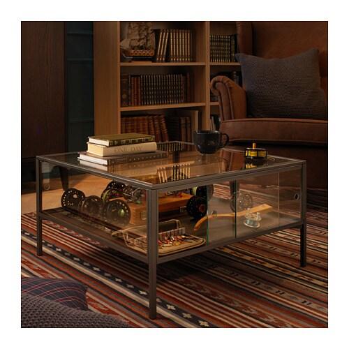 Ikea Coffee Table Grey Glass: SAMMANHANG Coffee Table