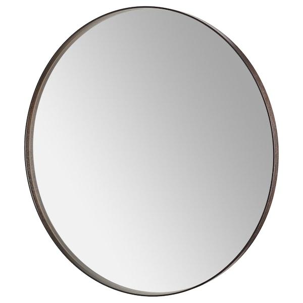 """SANDANE Mirror, black-brown veneer, 31 1/2 """""""