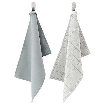 """SANDVIVA Tea-towel, blue, 16x24 """""""
