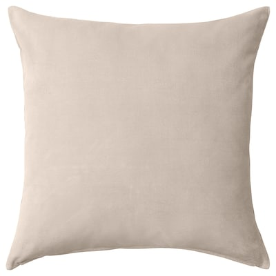 "SANELA Cushion cover, light beige, 26x26 """