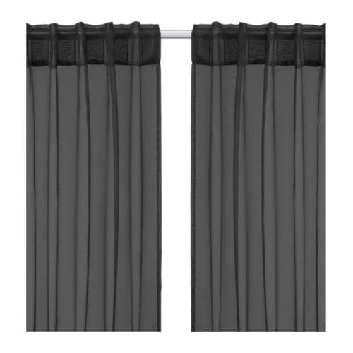 SARITA Sheer curtains, 1 pair