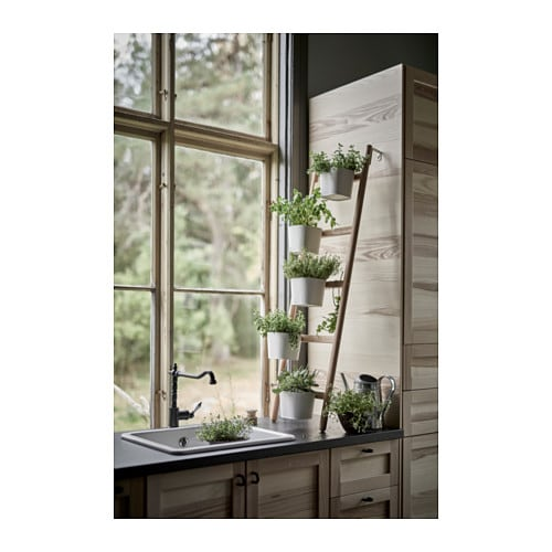 SATSUMAS Plant stand with 5 plant pots IKEA