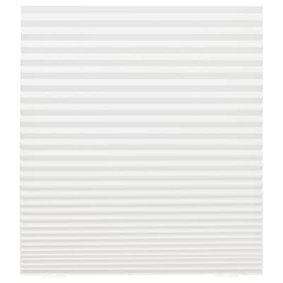 SCHOTTIS Pleated blind, white, 35 ½x74 ¾ ""