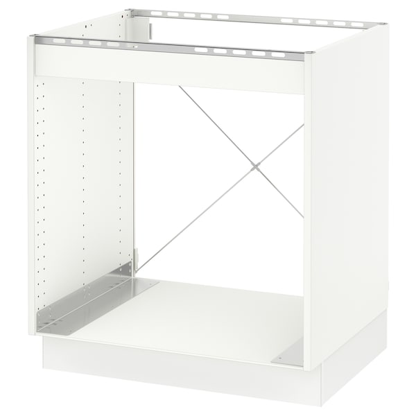 """SEKTION Base cabinet for oven, white/Bodbyn off-white, 30x24x30 """""""