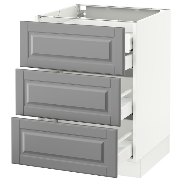 SEKTION Base Cabinet W/3 Fronts & 4 Drawers