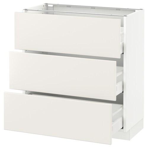 IKEA SEKTION Base cabinet with 3 drawers