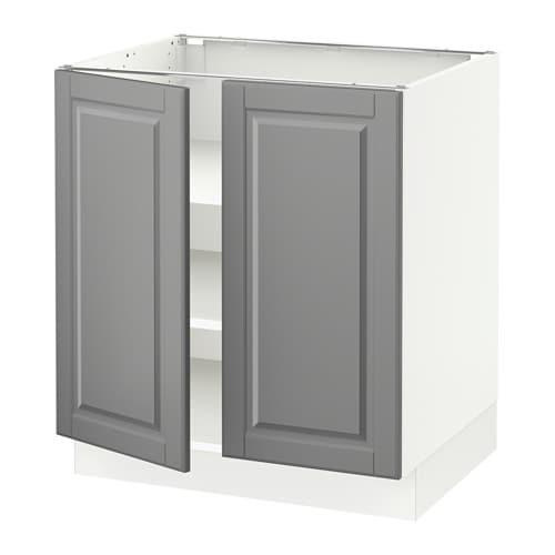 Kitchen Cabinet Doors And Fronts: SEKTION Base Cabinet With Shelves/2 Doors