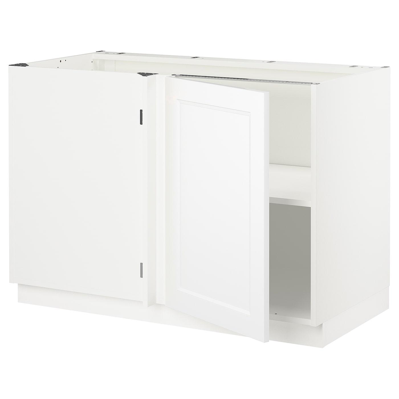 SEKTION Corner base cabinet with shelf - white, Axstad ...