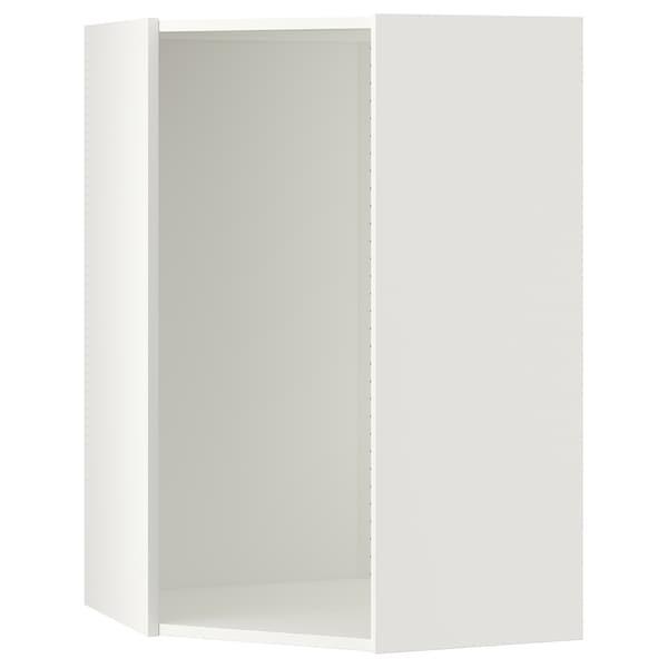 "SEKTION Corner wall cabinet frame, white, 26x26x40 """