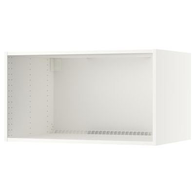 """SEKTION wall top cabinet frame white 23 5/8 """" 24 """" 36 """" 24 """" 24 """" 20 """" 3/4 """""""