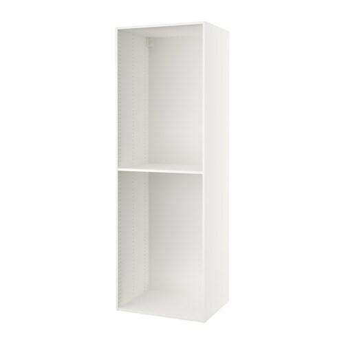 Sektion High Cabinet Frame White 30x24x90 Quot Ikea